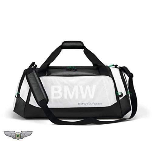 BMW New Original Golfsport Golf Sporttasche (schwarz und weiß) 80222285764