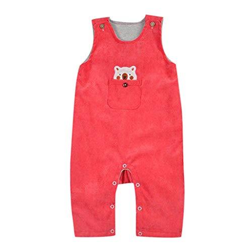 Jungen Mädchen Candy Farbe Bär Cartoon Overall Kindertagesgeschenke ()