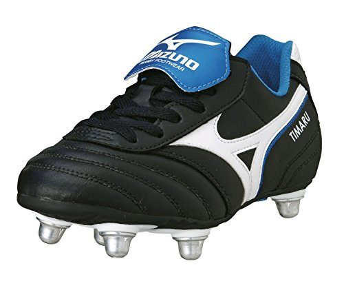 Mizuno Junior Timaru Chaussures De Rugby Black