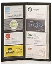 JEF Business Card Holder, Debit/Credit / Bussiness/Visiting Name Id Card Holder Book Cash Organizer File - 480 Pocket. (Black)