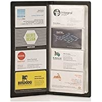 JEF Business Card Holder, Debit/Credit/Bussiness/Visiting Name Id Card Holder Book Cash Organizer File - 480 Pocket. (Black)