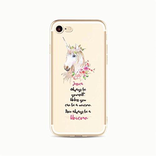 KSHOP Taschen Schale für diPhone 7 /iphone 7s Hülle (4.7 zoll) Hülle Schutzhülle Case Cover Kreative transparenten Silikon-Kasten-Abdeckung ultra dünne weiche TPU Flexible Gel Auto Anti-Kratz-Stoß- Ha fiore