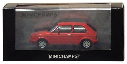 Minichamps–400055170–Fahrzeug Miniatur–Modell Maßstab–Volkswagen Golf GTI Pirelli–1977–Maßstab 1/43 (Miniatur-golf)