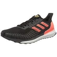 adidas Men's Solarboost St 19 Cross Country Running Shoe, Cblack/Sigcor/Goldmt, 10.5 UK (45 1/3)