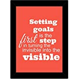 TIED RIBBONS Framed Wall Posters   Inspiring Wall Posters   Motivational Wall Posters For Students   Motivational Quotes Frames Office (13.6 Inch X 10.2 Inch,Multicolor, Engineered Wood)