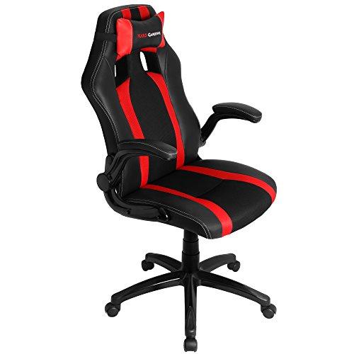 inclinaison jeu Mars de Chaise réglable MGC2BR Gaming ergonomiquerougenoir qUVMSzp