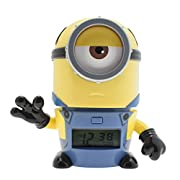 - High quality alarm clock - Press head to snooze- Officially licensed- Packaging: Gift-Box- Battery operated 2 AAA (included)- Height: 14 cm