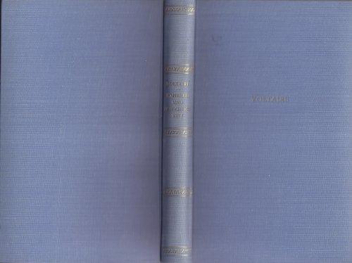 Buchseite und Rezensionen zu 'Für Wahrheit und Menschlichkeit. Seine Schriften ausgewählt und eingeleitet von Paul Sakmann' von Voltaire