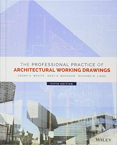 Pdf Download The Professional Practice Of Architectural Working Drawings Best Seller Book By Osamu A Wakita Fhgjhjytscbvtteg
