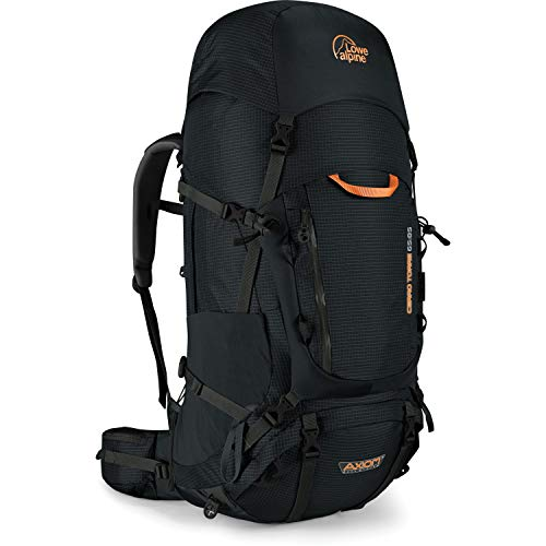 Lowe Alpine Cerro Torre Large 65:85 Volumen 65 L + 20 L Black