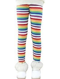 Niña En Mallas Leggings Impresión Elástico Pantalones Plus Espesamiento Leggins 5 150CM