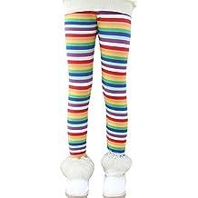Niña En Mallas Leggings Impresión Elástico Pantalones Plus Espesamiento Leggins 5 110CM