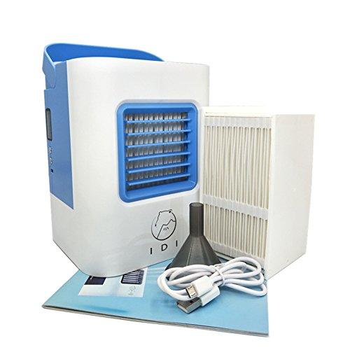 SL&LFJ Piccolo condizionatore d'aria portatile auto,Dormitorio mini creativo di ventilatore per desktop aria condizionata ventilatore di raffreddamento-A