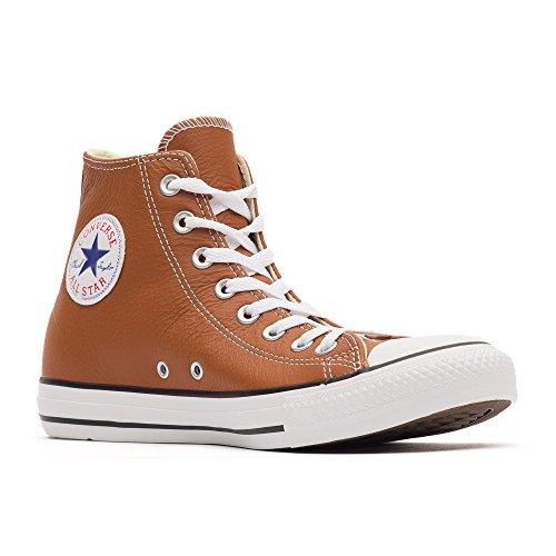 ConverseChuck Taylor All Star Adulte Seasonal Leather HI - Stivaletti Unisex – adulto (Orange (17 ROUILLE))