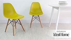 Bleu sarcelle Eames Chaise de salle à manger
