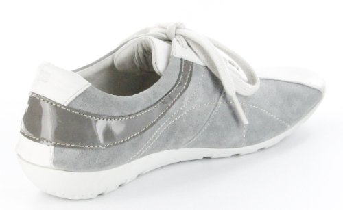 Josef Seibel Sneaker offwhitegrey Leder Teens Mädchen Schuhe Elisa 03 Grau