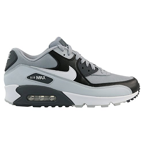 Nike Air Max 90 Essential Mens Running Trainers 537384 Sneakers Shoes (UK 5.5 US 6 EU 38.5, Wolf Grey White Platinum 083)