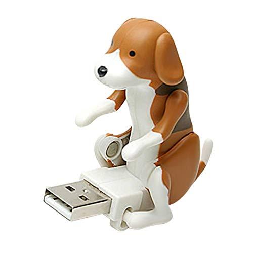 Acutty Lustiges nettes Haustier USB, das Punkt-Hund USB-Dongle Büro-Werkzeug Humping ist