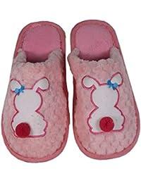 59b75783ba takestop® Pantofole Ciabatte Coniglietto Fiocco MORBIDE Calde COMODE  Antiscivolo Peluche Animale Animali Coniglio.