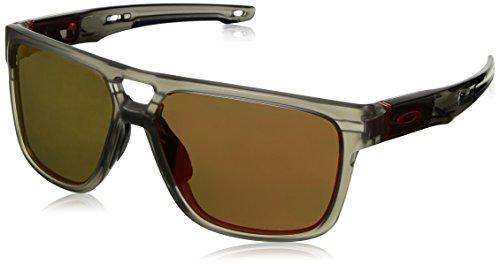 Oakley Herren Crossrange Patch 938205 Sonnenbrille, Grau (Gris), 60