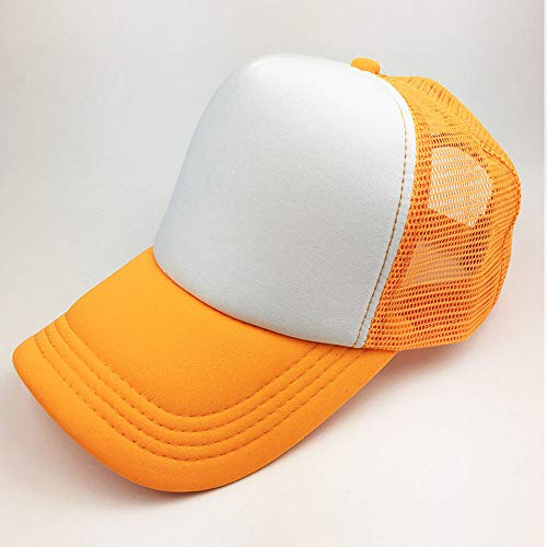 HENLOOO Baseball-Mützen für Herren und Damen, Klassische Sonnenhüte im Freien,orange - Herren Disney Vintage Micky Maus