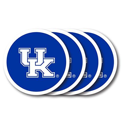 Duck House NCAA Kentucky Wildcats Untersetzer aus Vinyl, 4 Stück Kentucky Coaster