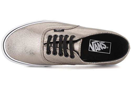 Vans U Authentic Decon, Baskets Basses Mixte Adulte ARGENTE BRONZE