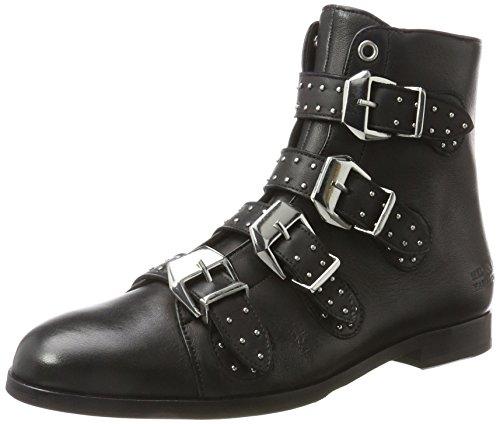 Melvin & Hamilton Damen Susan 44/R Chelsea Boots, Schwarz (Nappa Black, Hrs Black), 42 EU (Nappa-leder-stiefel)
