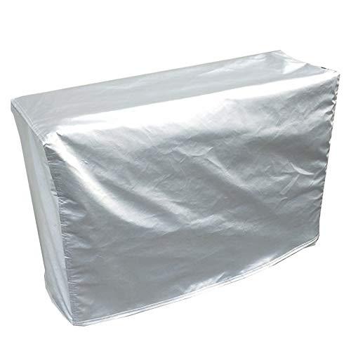GZHENH-Abdeckung Gartenmöbel Anti-UV Regenschutz Sonnencreme Staubdicht Tische Stühle Schutz Nicht Leicht Verformt Innen- 33 Größe (Color : Silver, Size : 325x208x58cm)