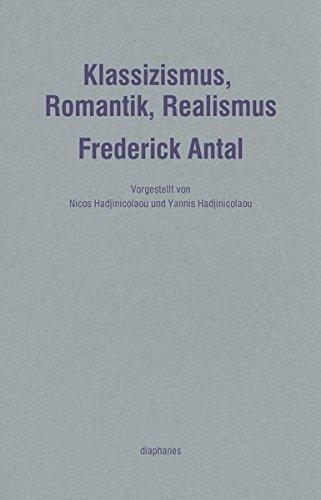 Klassizismus, Romantik, Realismus (Handapparat)