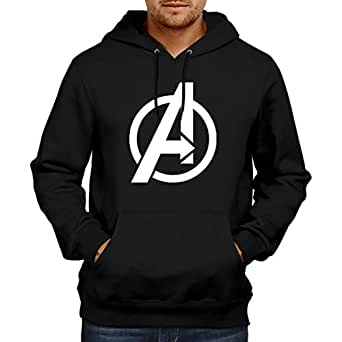 WearIndia Unisex Cotton Super Hero Avenger Printed Pullover(Black, X-Small)