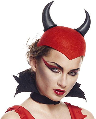 /rot Teufel rot mit Hörnern Gap Schwarz, One size (Sexy Teufel Hörner)