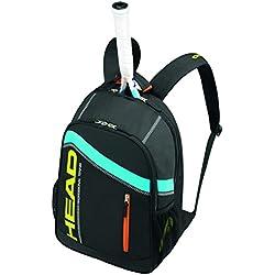 Head Core- Bolsa para raquetas, color negro / amarillo