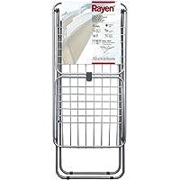Rayen 0334 - Tendedero de aluminio, hasta 20 metros de tendido, 177 x 55 x 92 cm, color gris