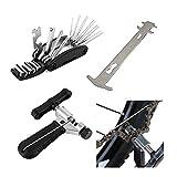 LEENY Multifunktions-Radfahren-Reparatursatz-Kit für die Fahrrad-Reparatur-Pocket Tool mit 16 in 1 Schraubenschlüssel, Praktischen Fahrradwerkzeug zur Fahrradreparatur zu Hause und im...