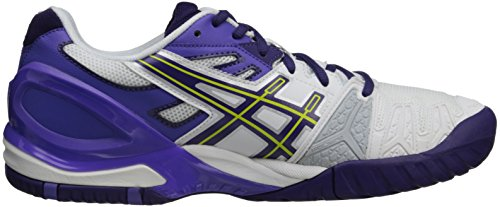 Asics Gel-Resolution 5, Chaussures de Tennis Pour Femme White/Purple/Lavender