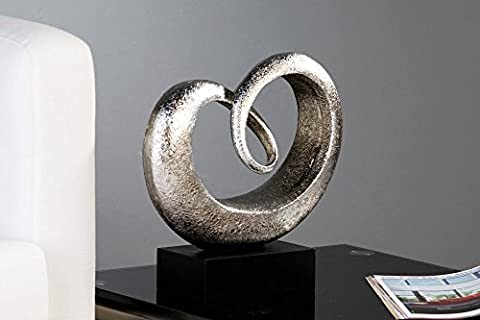 Sculpture décorative - Heart - Objet d'art - belle forme impressionnante