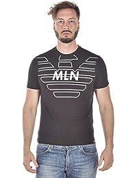 e034fc6396 Emporio Armani 3Z1T76 Camisetas Hombre Negro M