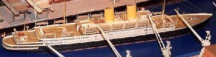 Wilhelmshavener Modellbaubogen BERLIN Fahrgastschiff gebraucht kaufen  Wird an jeden Ort in Deutschland