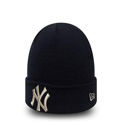 New Era New York Yankees Herren Strickmütze Blau