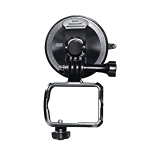 AEE Technology CS02 Suction Cup Joint Mount with Basket for AEE S-Series Action Cameras (Black)