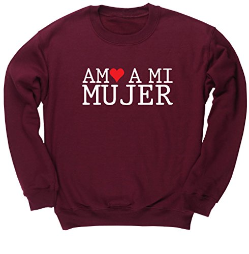 HippoWarehouse Amo A Mi Mujer jersey sudadera suéter derportiva unise