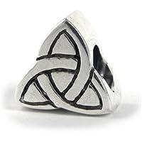 Carlo BIAGI 925 argento Bead drachensilber nodi braccialetto ciondolo BBS080