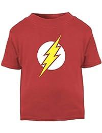 The Flash. Superhero Baby T-Shirt.