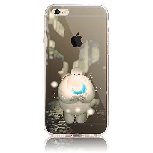 iPhone 7 Case (4.7) , iPhone 7 Custodia,Ultra Slim Thin Crystal TPU Paesaggio Morbido Bumper Case + Stylus Screen Touch Pen –cima model 8