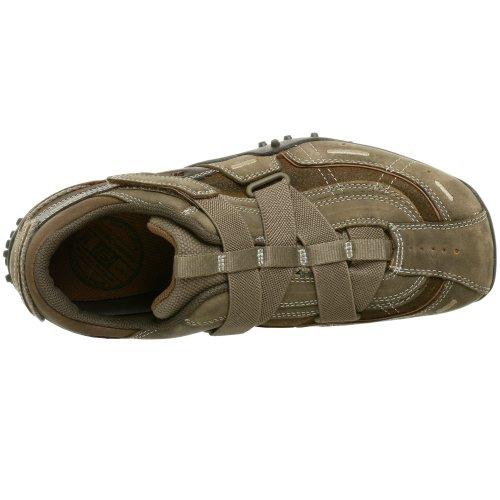 Skechers Urbantrack-Palms 60313 stbr, Herren Sneaker Braun (Stein/Braun)