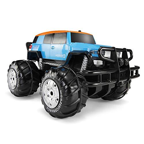 RC Auto Off-Road-Kletterer Truck , 2,4 GHz 4WD Hochgeschwindigkeits-Funkferngesteuerter Buggy , Amphibienauto Riesenrad Allradantrieb Fernbedienung Auto - Kinderspielzeug Electric Boy Drahtlose Fernbe
