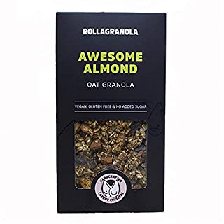 Rollagranola Awesome Almond Granola (300g) | 100% Natural Ingredients and All The Health Benefits Associated