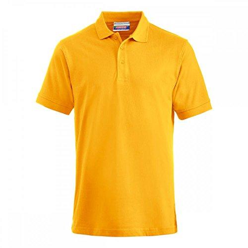 Preisvergleich Produktbild Premium Polo-Shirt Baumwolle - 2 Stück Set - Gelb, XXL
