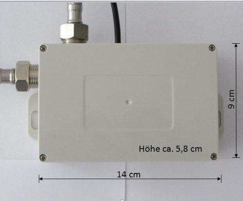 Watermeetsdesign – Infrarot IR Sensorarmatur, Waschtisch, Kaltwasserarmatur, mit Batteriebetrieb, Chrom - 4